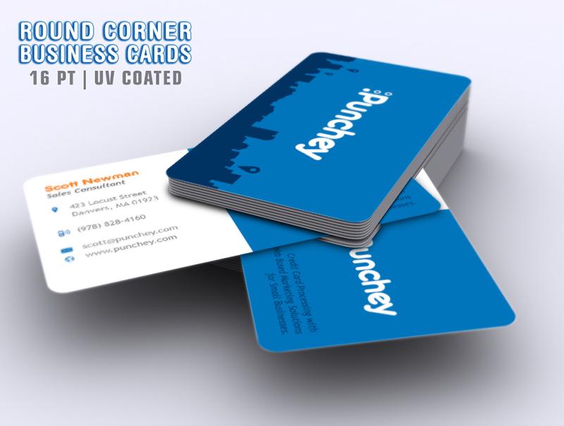 Portfolio northeast ink round corner business cards colourmoves