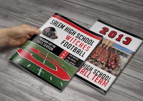 High School Football Program Inside