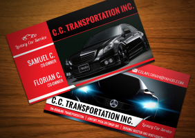 Luxury Car Service Business Cards