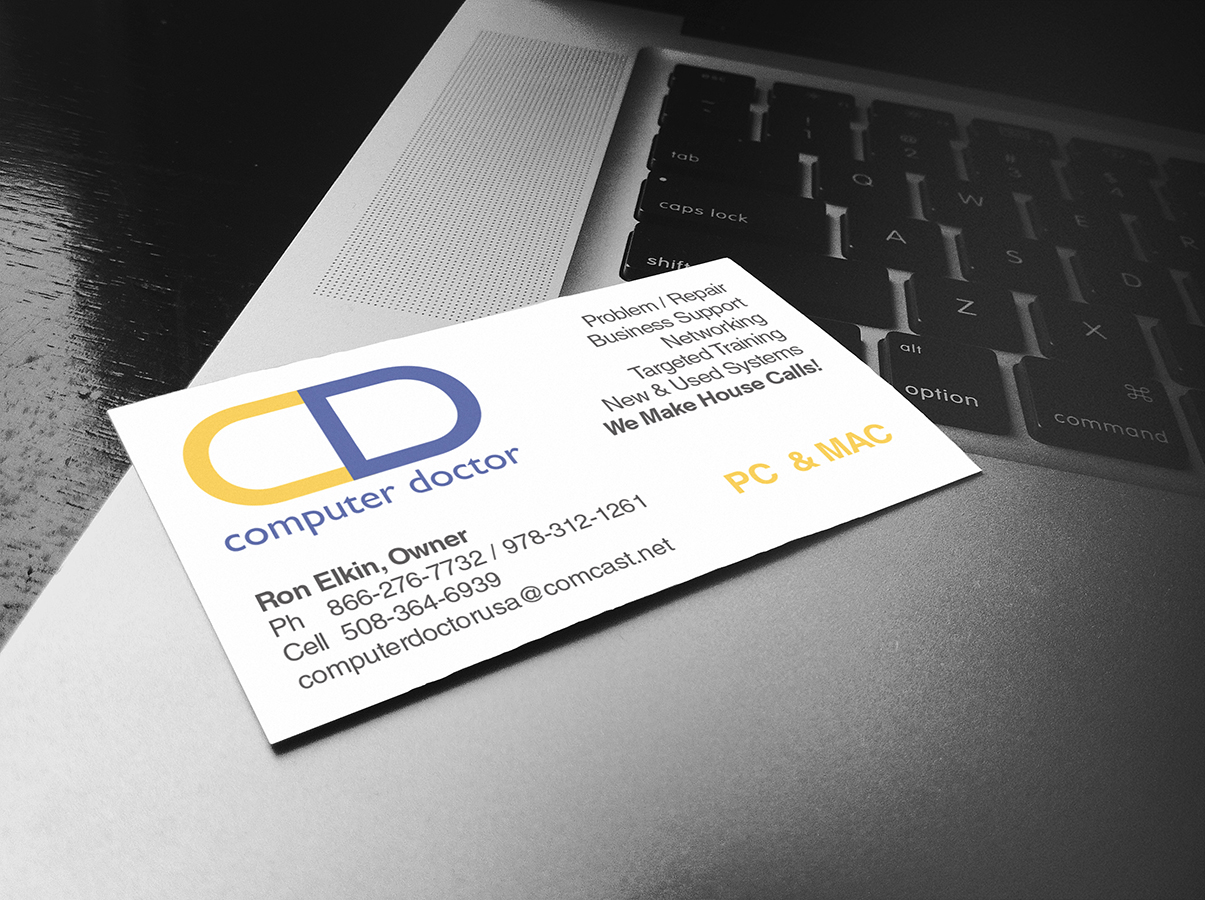 Computer Services Business Card - Northeast Ink