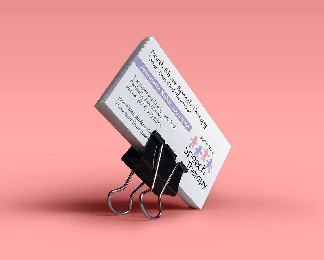 Portfolio northeast ink speech therapy business card colourmoves