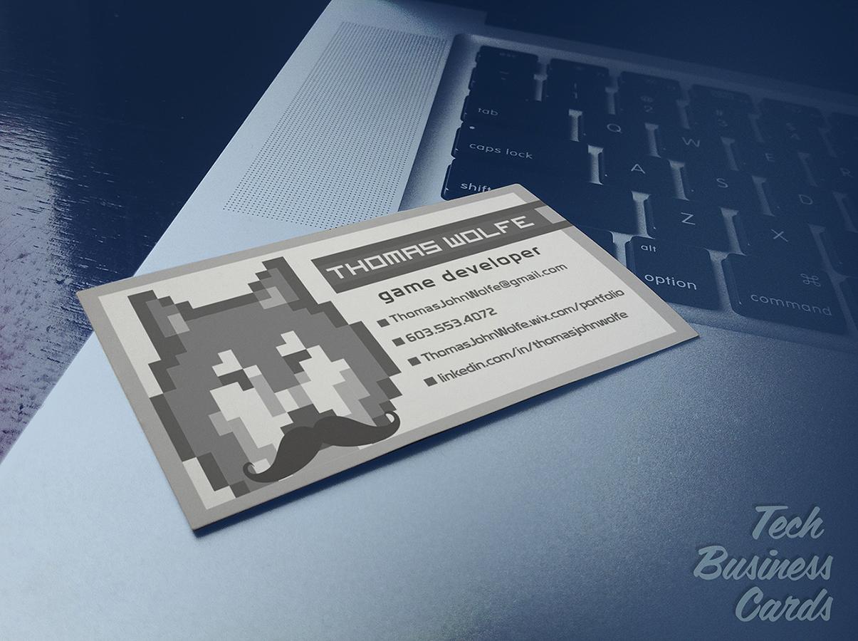 Game Developer Business Card - Northeast Ink