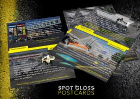 Spot UV Gloss Postcards