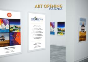 Art Exhibit Postcards