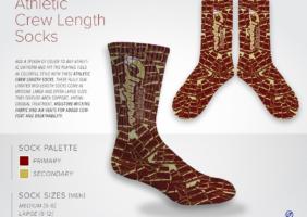 Athletic Crew Length Socks