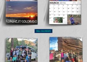 Trip Themed Wall Calendar
