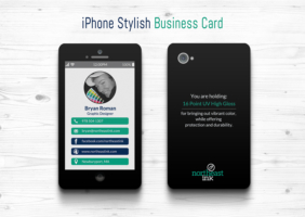 iPhone Themed Business Card