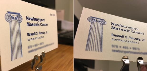 Masonic business card northeast ink colourmoves