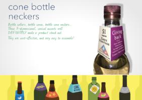 Cone Bottle Necker Tags
