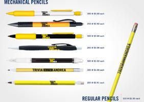 Mechanical Trivia Pencils