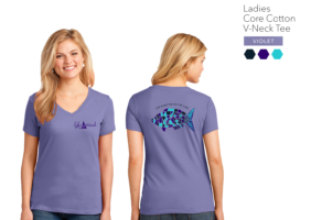 Women's V-Neck Lake Shirt
