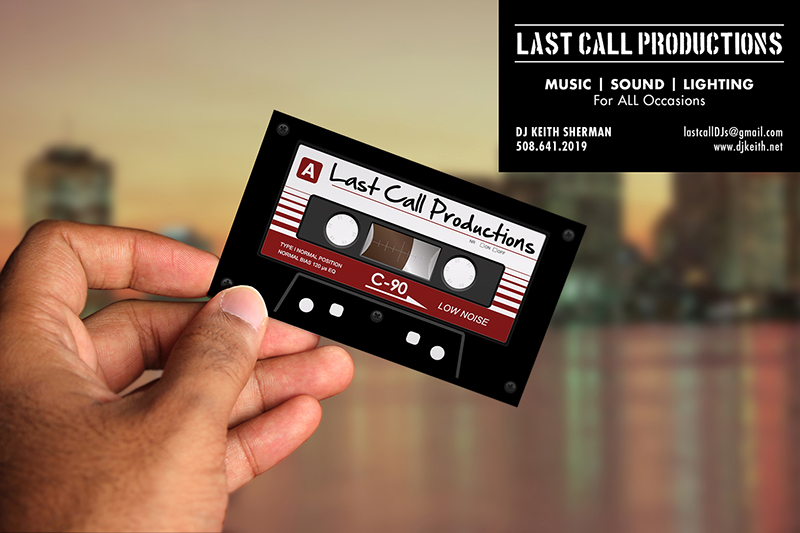 Portfolio northeast ink dj entertainment business cards reheart Image collections