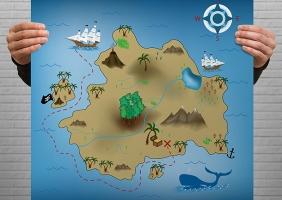 Custom Treasure Map