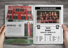 High School Football Program Covers