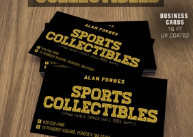 Sports Retail Business Cards