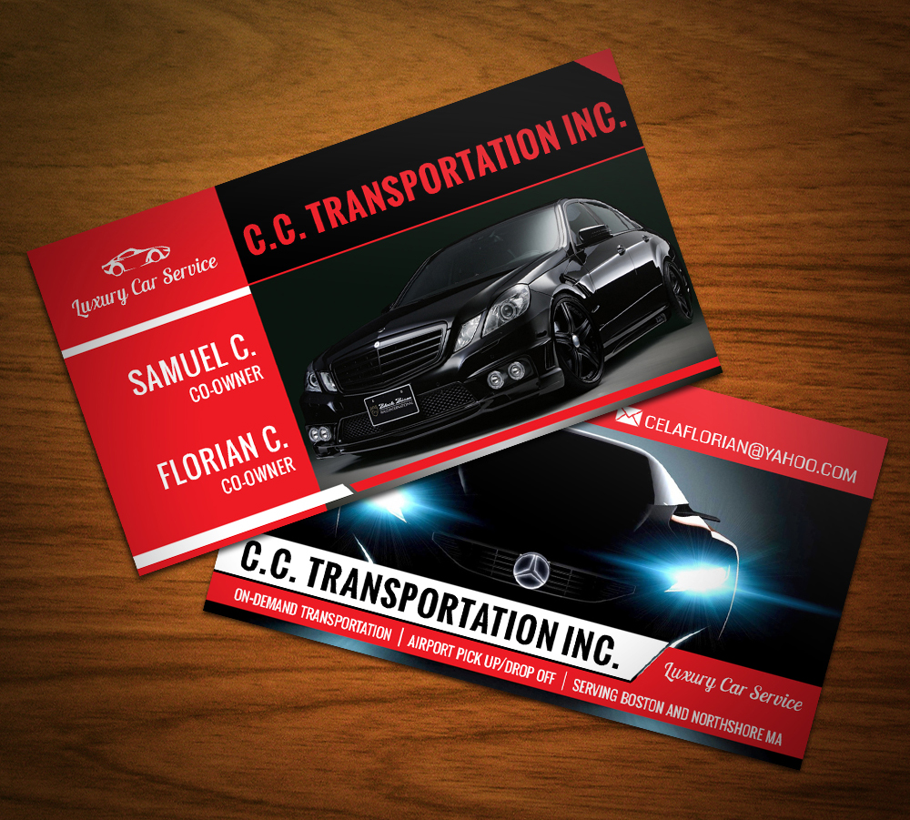 Portfolio northeast ink luxury car service business cards magicingreecefo Image collections