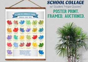 School Collage Poster