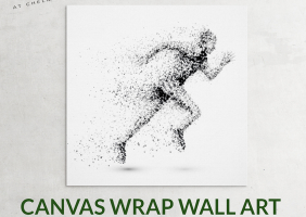 Fitness Room Canvas Wrap