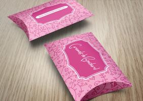 Caramel Pillow Boxes