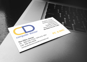 Computer Services Business Card