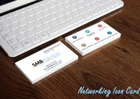Networking Icon Business Card