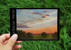 Painting Postcard