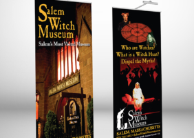Museum Banner Stand