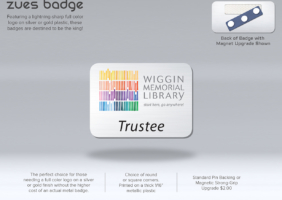 Library Badge