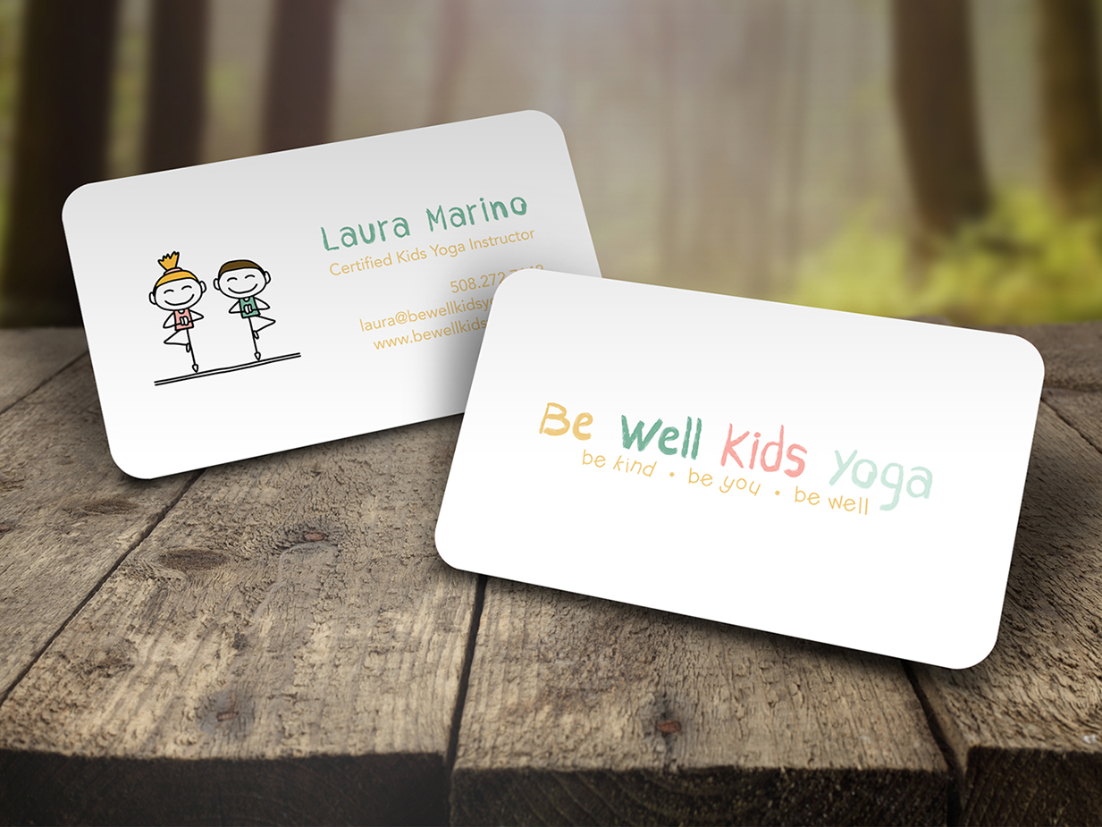 Yoga business cards northeast ink colourmoves