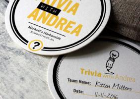 Trivia Coasters